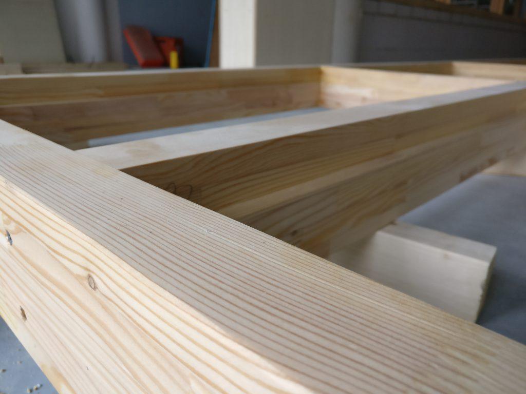 Kozijn larix hout