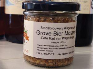 Grove mosterd gemaakt met Bierazijn